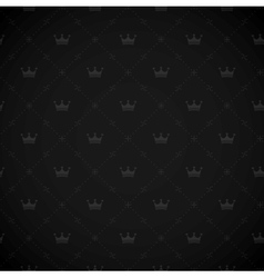 seamless royal background vector image