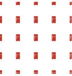 Clean fridge icon pattern seamless white vector