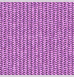 Knit texture pink color seamless pattern fabric vector