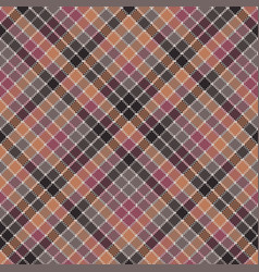 mosaic check plaid pixel fabric texture seamless vector image