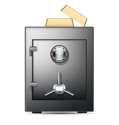 safe banking vector image