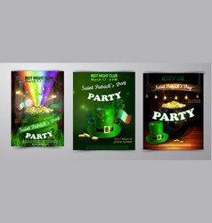 St patrick s day poster vector