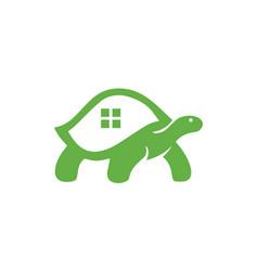 Tortoise - logo template vector