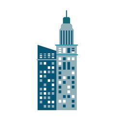 building urban skyscraper image vector image