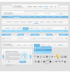 Web template vector