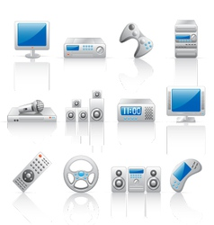 computer and home appliances vector image