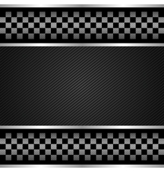 Racing template vector image vector image