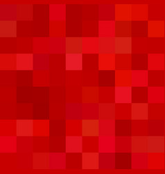 Red square mosaic background - vector