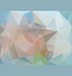 abstract pastel bleu polygon background vector image