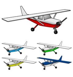 Air plane vector