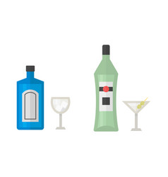 alcohol martini drinks beverages cocktail drink vector image