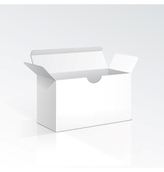 Blank Open Box vector image