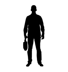 businessman with briefcase man with a business vector image