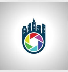 City photography symbol icon image vector