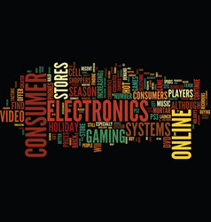 go online to buy hot consumer electronics for the vector image