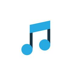 music colorful icon symbol premium quality vector image vector image