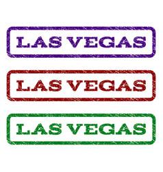 las vegas watermark stamp vector image