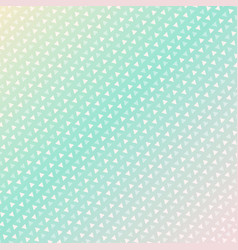 seamless triangle pattern background green vector image vector image