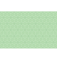 seamless shamrock pattern vector image