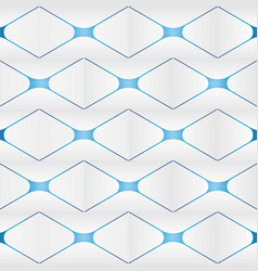 abstract square background 3d modern wallpaper vector image