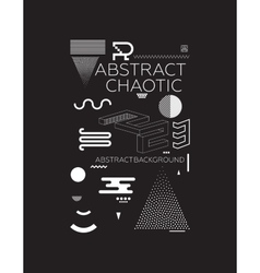 Chaotic Abstract Background vector