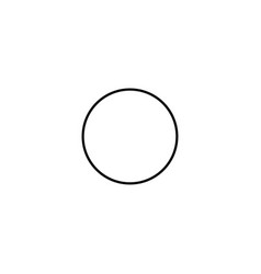 circle icon vector image