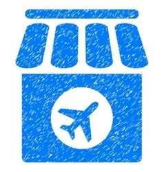 Duty Free Grainy Texture Icon vector