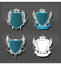 emblems series knightly vector image