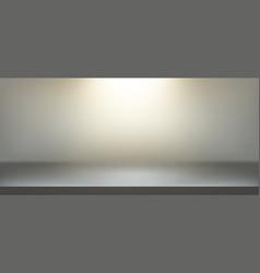 illuminated scene background realistic vector image