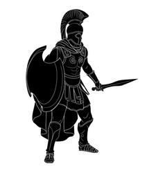 roman empire warrior vector image
