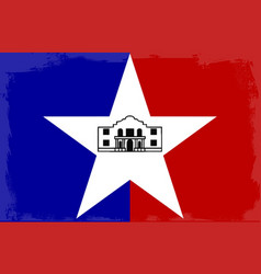 San antonio city flag vector
