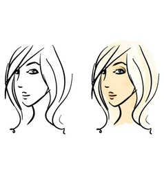 Sketches set vector image