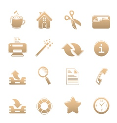 universal set of icons one vector image