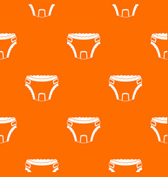 baby diaper pattern seamless vector image
