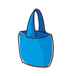 A bag is placed vector