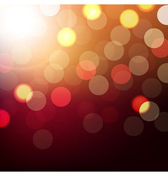 Background With Bokeh vector