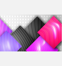 cut paper relief background vector image