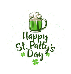 happy patricks day vector image