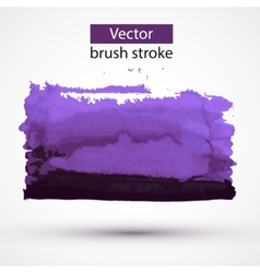 Paint stroke design element vector image