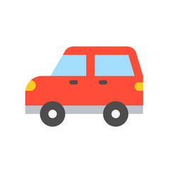 simple transportation icon flat design vector image