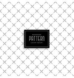 Subtle clean cross pattern design vector