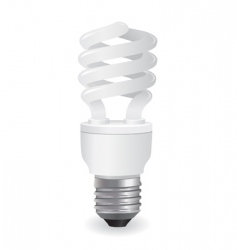 vector light bulbs icon vector image