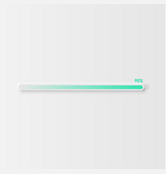 Very high detailed white user interface loading vector