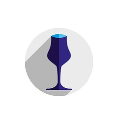 Winery theme decorative wine goblet wine tasting vector