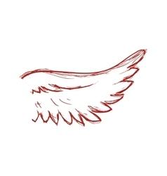 Wing icon Bird design graphic vector