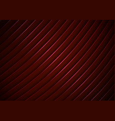 abstract modern stripes curved lines pattern red vector image