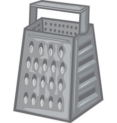 Cheese grater vector