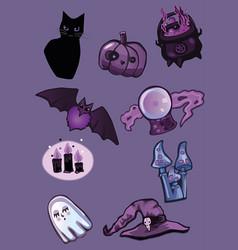 Magic stuffs vector