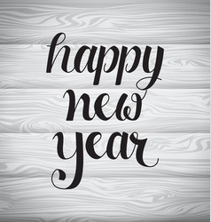 new year typography 4 vector image