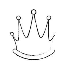royal crown icon image vector image